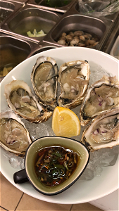 Foto Verse Oesters 6 st