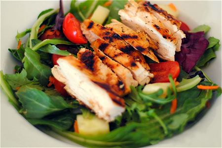 Foto Grill Chicken Salad