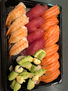 Foto Menu Box Nigiri